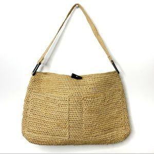 ANNABEL INGALL Australia Raffia Straw Shoulder Bag